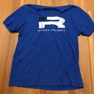 Other - IRON REBEL T SHIRT BLUE XL